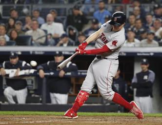 Boston toma ventaja tras ciclo de Brock Holt