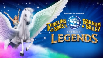 Promocion:  Ringling Bros and Barnum & Bailey Presents LEGENDS