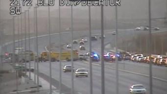 Una persona muere tras choque al suroeste de Las Vegas