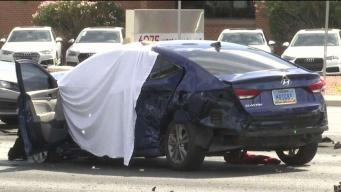 Acusada de choque mortal involucrando múltiples carros