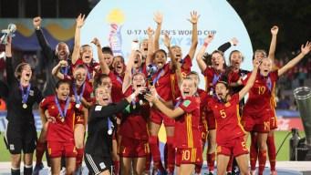 España gana su primer Mundial femenino Sub'17