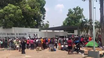 Esperanza para cubanos varados en Tapachula