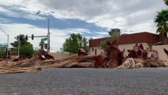 Fuertes vientos azotan al valle de Las Vegas