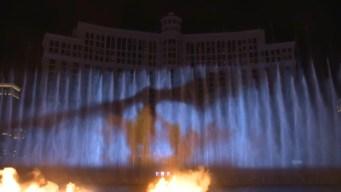 Dragones y fuego: nuevo espectáculo en fuentes del Bellagio