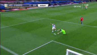 Goool de Argentina tras pase magistral de Messi