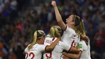 Inglaterra saca lo fiera, elimina a Noruega y clasifica a Semifinales