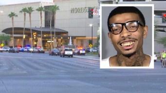 Arrestan a sospechoso de tiroteo en el Fashion Show Mall