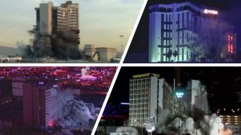 Derrumbando casinos: historia de implosiones en Vegas