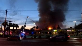 Tomará meses investigar incendio cerca del Strip