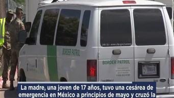 Reportan detención de madre y bebé prematura en McAllen