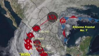 México se prepara ante la llegada de Willa
