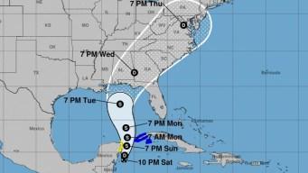 Anticipan formación de tormenta tropical Michael