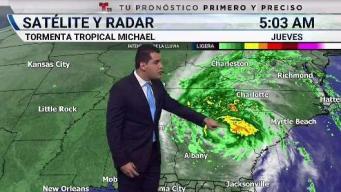 Michael se debilita pero dejará fuertes lluvias