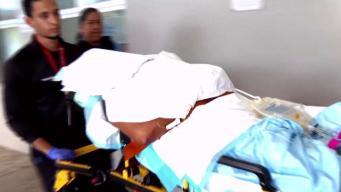 Ataque a machetazos: embarazada al borde de la muerte