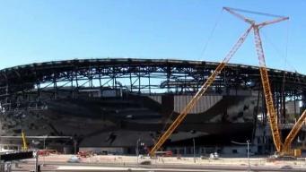 Nuevo estadio en Las Vegas cerca de ser finalizado
