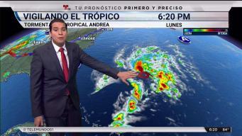 Se forma la tormenta subtropical Andrea