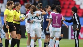 Así se vivió el partido entre Argentina y Japón en el Mundial Femenino