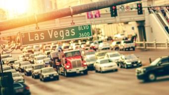 Las Vegas llega por primera vez a los 100° en el año