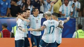 Argentina derrota a Venezuela y se enfrentará a Brasil