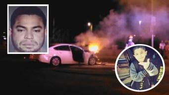 Arrestan tío que abandonó a sobrino tras choque en LV