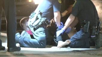 Se resiste al arresto ante 5 policías, mira cómo termina