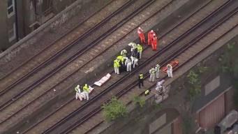 Tren arrolla a tres personas en Londres