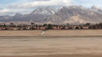 Helicóptero aterriza de emergencia en parque de Las Vegas