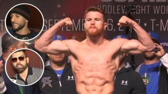 Boxeadores opinan en Las Vegas sobre dopaje de Canelo