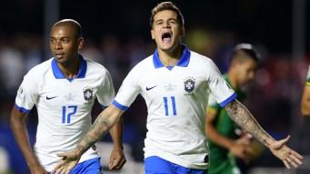 Brasil inicia la Copa América con una goleada a Bolivia