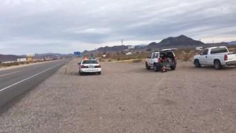 Policia investiga posible homicidio, encuentran hombre sin vida en el desierto