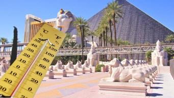 Nuevo récord de temperaturas altas en Las Vegas