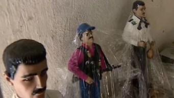 """""""El Chapo"""", de narco violento a santo venerado"""