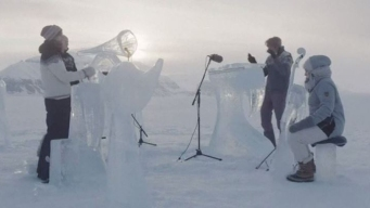 Increíble: el concierto más helado del mundo