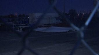 Varios puestos en Broadacres se vieron afectados