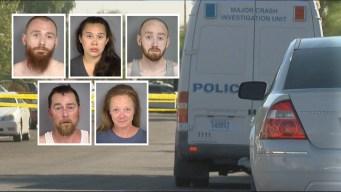 5 familiares arrestados por muerte de niño en NLV