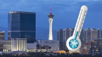 Está más frío en Las Vegas que en ciudades de la costa este