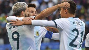 Golazo de Dybala para hacer el segundo de Argentina