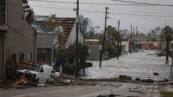 El huracán Michael castiga el noroeste de Florida