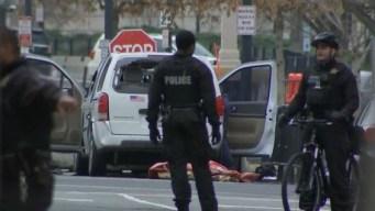 Casa Blanca: conductora detenida tras chocar con valla