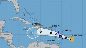 Se fortalece la tormenta tropical Kirk