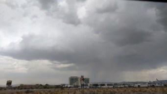 Lluvia acaba con sequía de dos meses en el valle