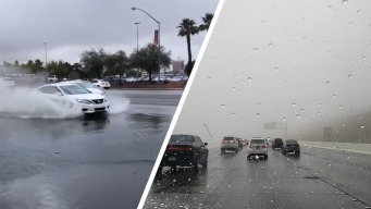 Lluvias regresan a Las Vegas tras casi dos meses