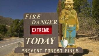 Seis consejos para que te prepares ante incendios forestales