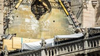 Hallan colillas en andamios cerca del incendio de Notre Dame