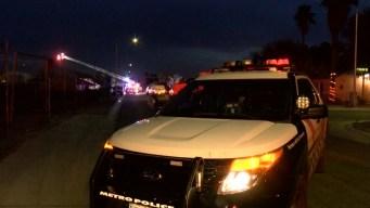 Un muerto y un herido durante incendio en Las Vegas