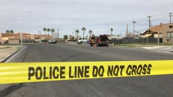 4 oficiales de policía le disparan a hombre en Las Vegas