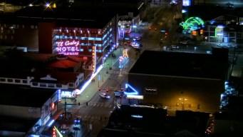Disparos dejan a 4 personas heridas en hotel y casino