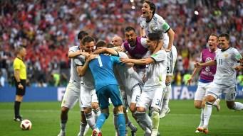 Rusia elimina a España en los penales y pasa a cuartos