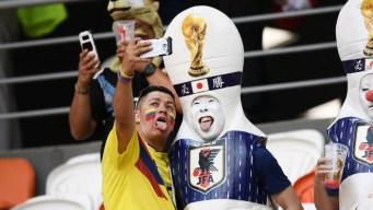 Hinchas que se portan mal en el Mundial de Fútbol