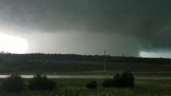 Monstruoso tornado captado en video